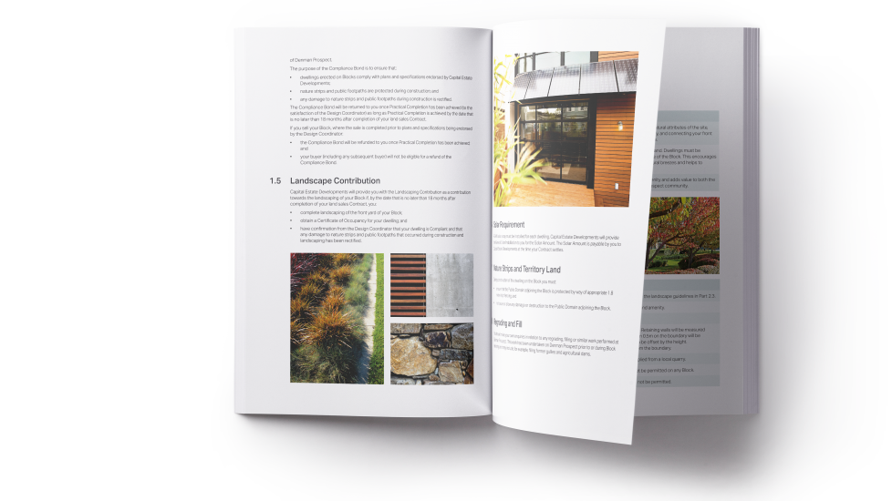 Download our Building Guidelines