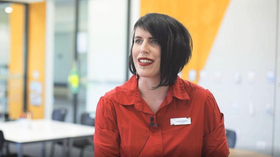 Meet Jackie Vaughn, Principal of Evelyn Scott School
